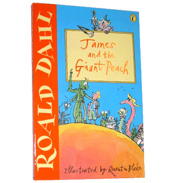 James & The Giant Peach by Roald Dahl