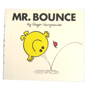 Mr Men Mr Bounce Book