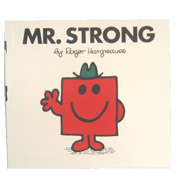 Mr Men Mr Strong Book