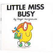 Little Miss Busy Book