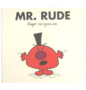 Mr Men Mr Rude Book
