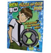 Ben 10 Puzzle & Quiz Book
