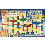 House of Marbles 62 Piece Marble Run