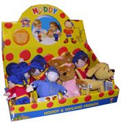 Noddy in Toyland Plush Toy - Bumpy Dog