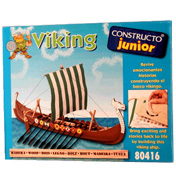 Constructo Junior Viking Boat Kit