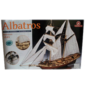 Constructo Albatros Boat Wooden Kit (Scale 1:55)