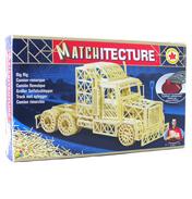 Matchitecture BIG RIG Trailer Truck Matchstick…