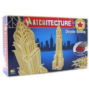 Chrysler Building Matchstick Kit