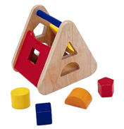 Pintoy Sorting Basket Wooden Toy