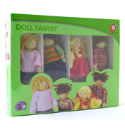 Pintoy White Dolls House Family