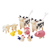 Pintoy Wood Valley Farm Animals