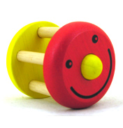 Pintoy Smile Rattle (ASSORTED COLOUR)