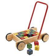 Baby Walker with Alphabet Bricks