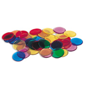 Learning Resources Transparent Counters, 2cm in 6…