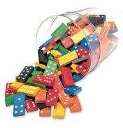 Double Six Dominoes in a Bucket
