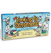 Cooking Up Sentences Parts of Speech Game