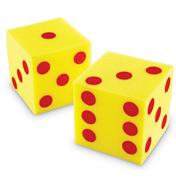 Giant Soft Dots Cubes Dice