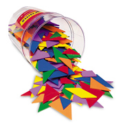 Classpack Tangrams in 6 colours