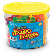 Jumbo Magnetic Lowercase Letters