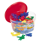 Backyard Bugs (Set of 72)