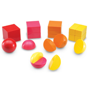 Magnetic Rainbow Fraction Shapes