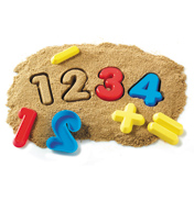 Number & Operations Sand Molds