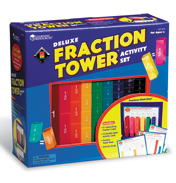 Deluxe Fraction Tower Activity Set
