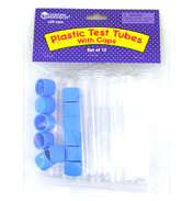 Learning Resources Plastic Test Tubes with Caps 12&hellip;