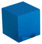 Interlocking Base Ten 1 Cube