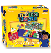 Reading Rods Simple Sentences Classroom Kit