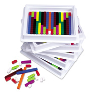 Connecting Cuisenaire Rods Introductory Set Multi-pack