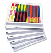 Plastic Cuisenaire Rods Introductory Set Multi-pack