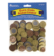 Learning Resources Toy Euro Coin Assortment (100&hellip;