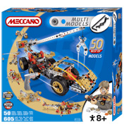 Meccano Multi Model 50 Model Set with Motor