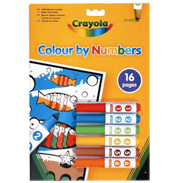 Colour by Numbers Starter Set