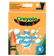 Big Washable Crayons