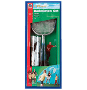 Mookie 4 Player Badminton Set