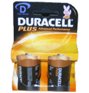 Duracell D Batteries Twin Pack