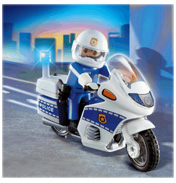 Playmobil Police Motorcycle Patrol