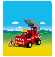 Playmobil 1 2 3 Fire Engine