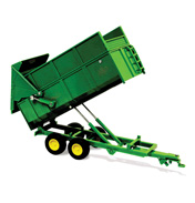 Marston Silage Trailer in Green