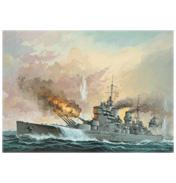 Battleship H.M.S. King George V