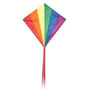 Diamond Rainbow Kite