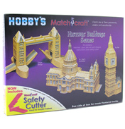 Hobby's Matchcraft Tower Bridge Matchstick…