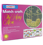 Hobby's Matchcraft Mary Rose Matchstick Model…
