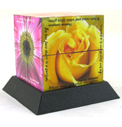 ZooBooKoo Flowers Therapy Cube Book