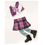 Our Generation A Taid Plaid Doll OUTFIT