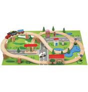 50 Piece Train Set & Playmat