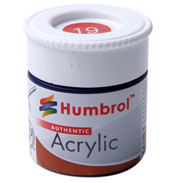Acrylic Matt Paints- Colours Natural Wood to White