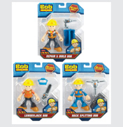 Action Bob Figure Assorted